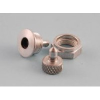 Intairco High Flow 6mm Fuselage Vent Fitting with Blanking Plug- 6mm Barb