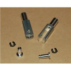 Intairco M3 Aluminium Clevis (Pkt 2)