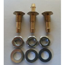 Fuel Tank Feed/Vent Nipple Set